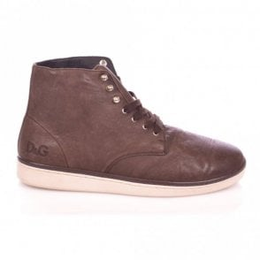 High Top Brown Trainer
