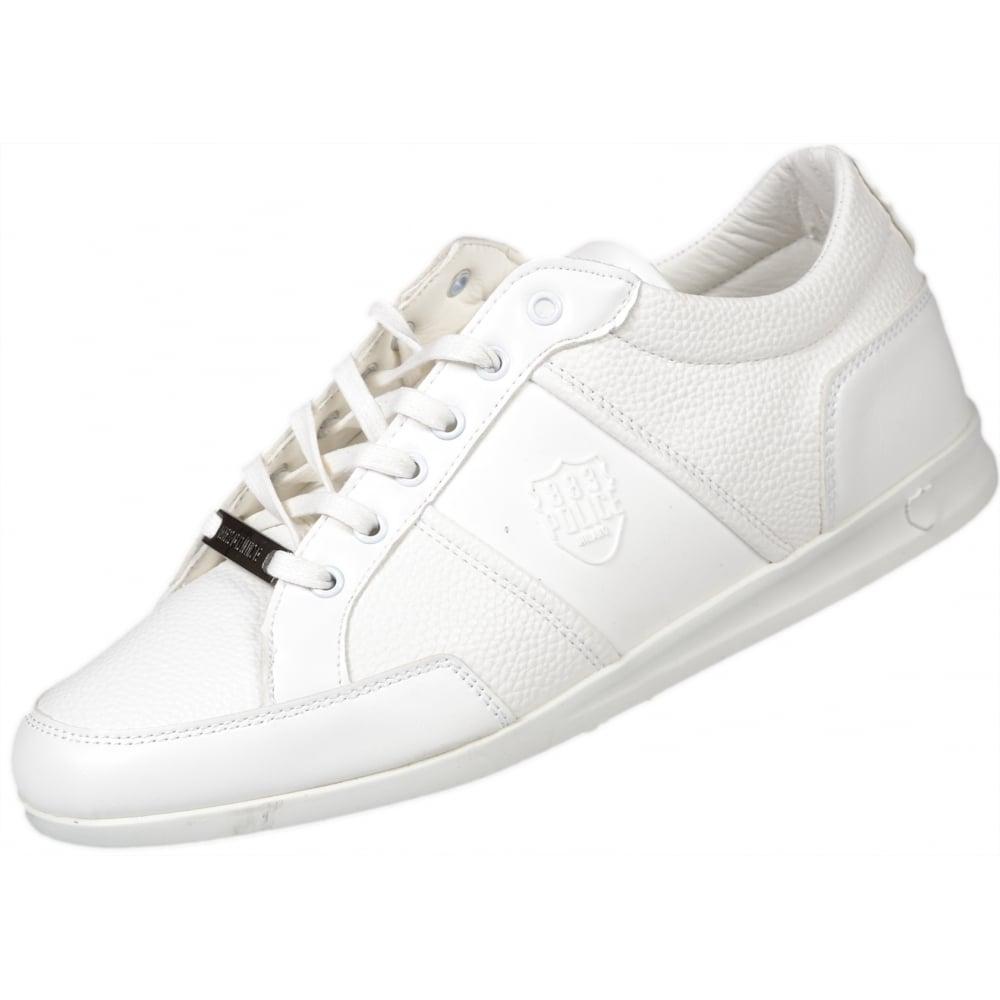 883 Police Crank Smart Pu White Trainer Footwear From N22 Menswear Uk