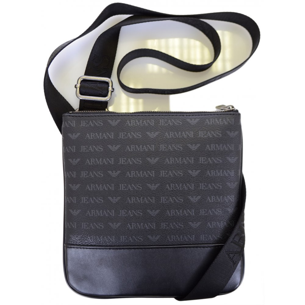 Armani Jeans 06205 Black Branded Pouch Bag - Accessories from N22 ... e2d66e20151d5