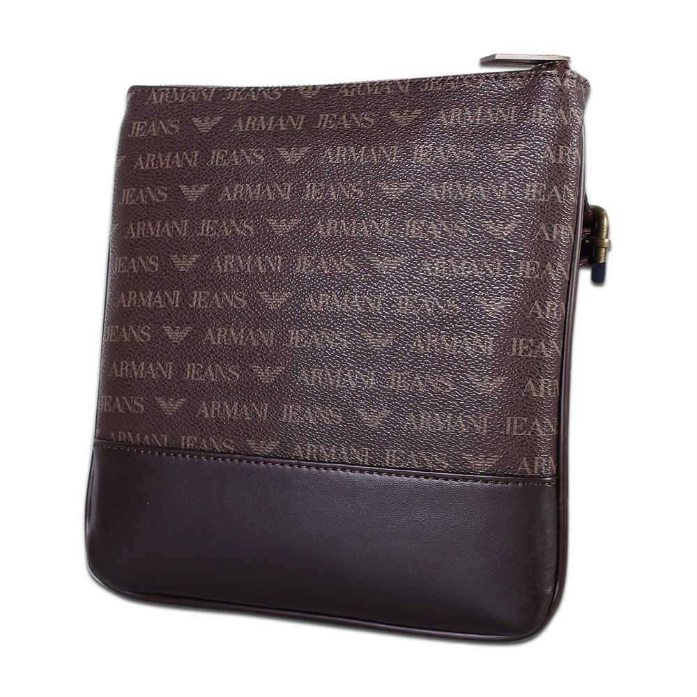 Armani Jeans 06205 Brown Branded Pouch Bag - Accessories from N22 ... 86c73abe88f27