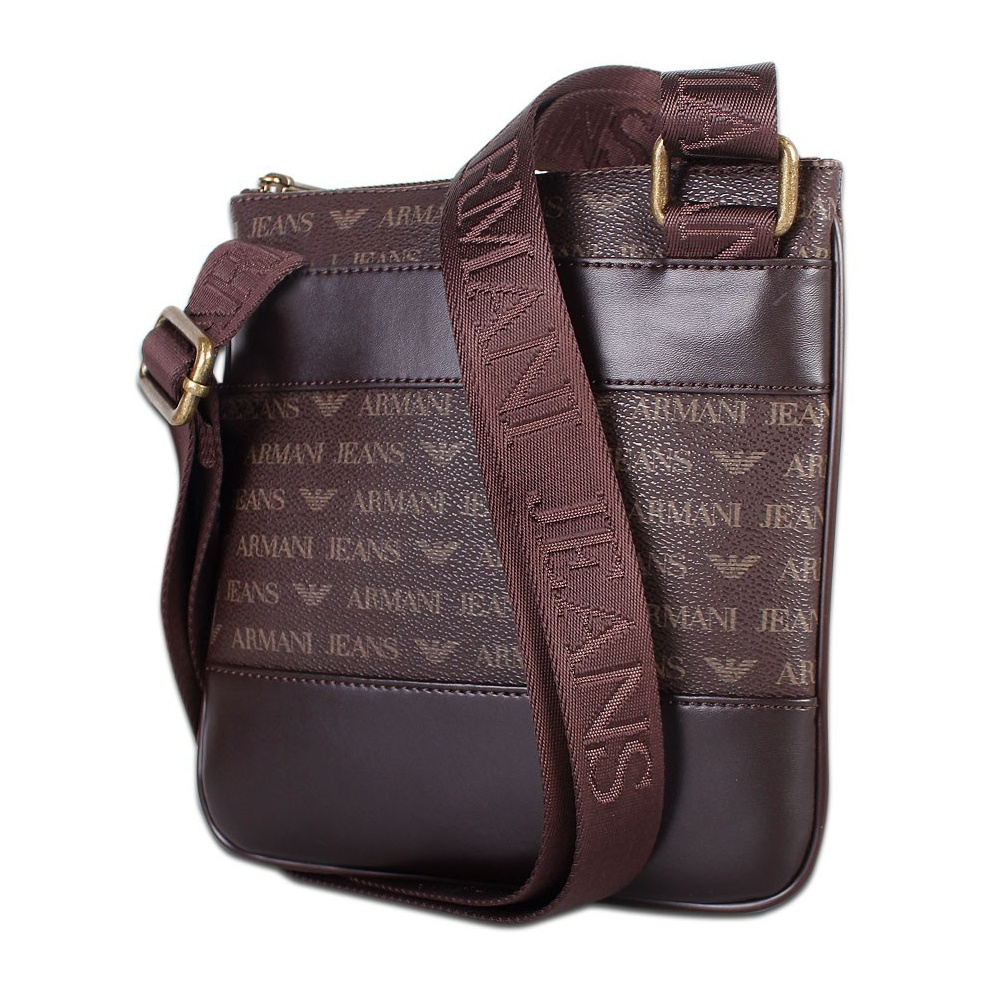 Armani Jeans 06205 Brown Branded Pouch Bag - Accessories from N22 ... c6a3e2f9ce3b1