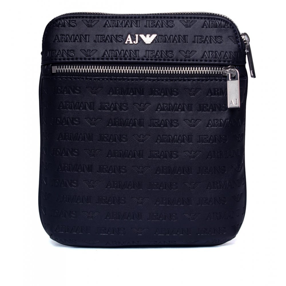 2f0e9bbd7743 Armani Jeans 06236 V7 Blue PU Side Pouch Bag - Accessories from N22 ...