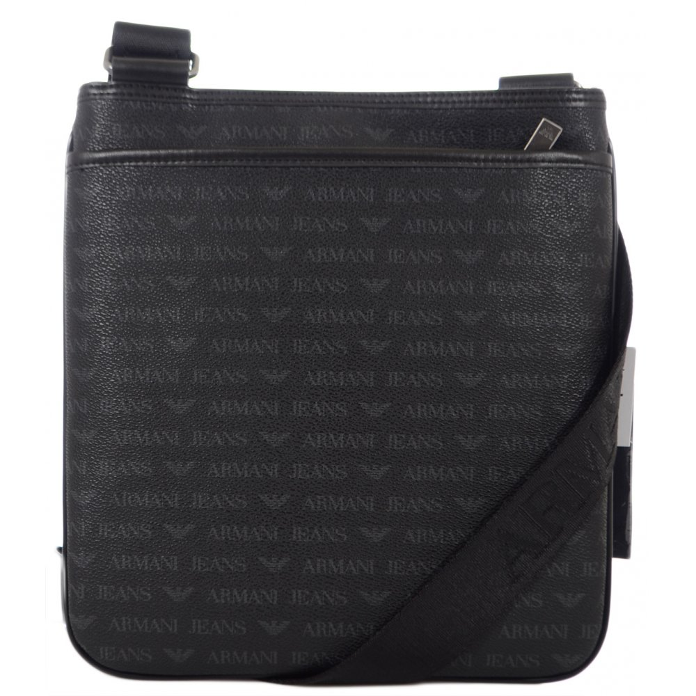 3a21a8acb119 Armani Jeans 06292 Tablet Shoulder Black Bag - Accessories from N22 ...
