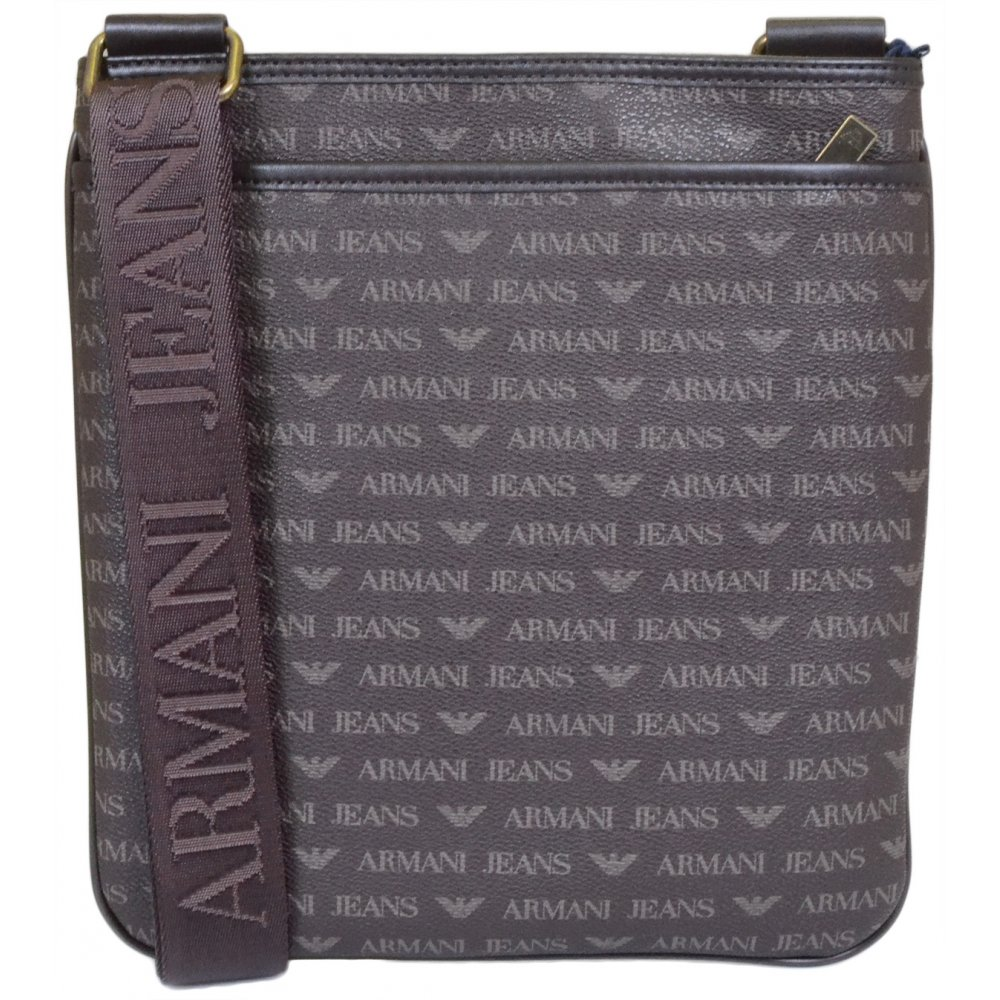 9bcf5a3fec39 Armani Jeans 06292 Tablet Shoulder Brown Bag - Accessories from N22 ...