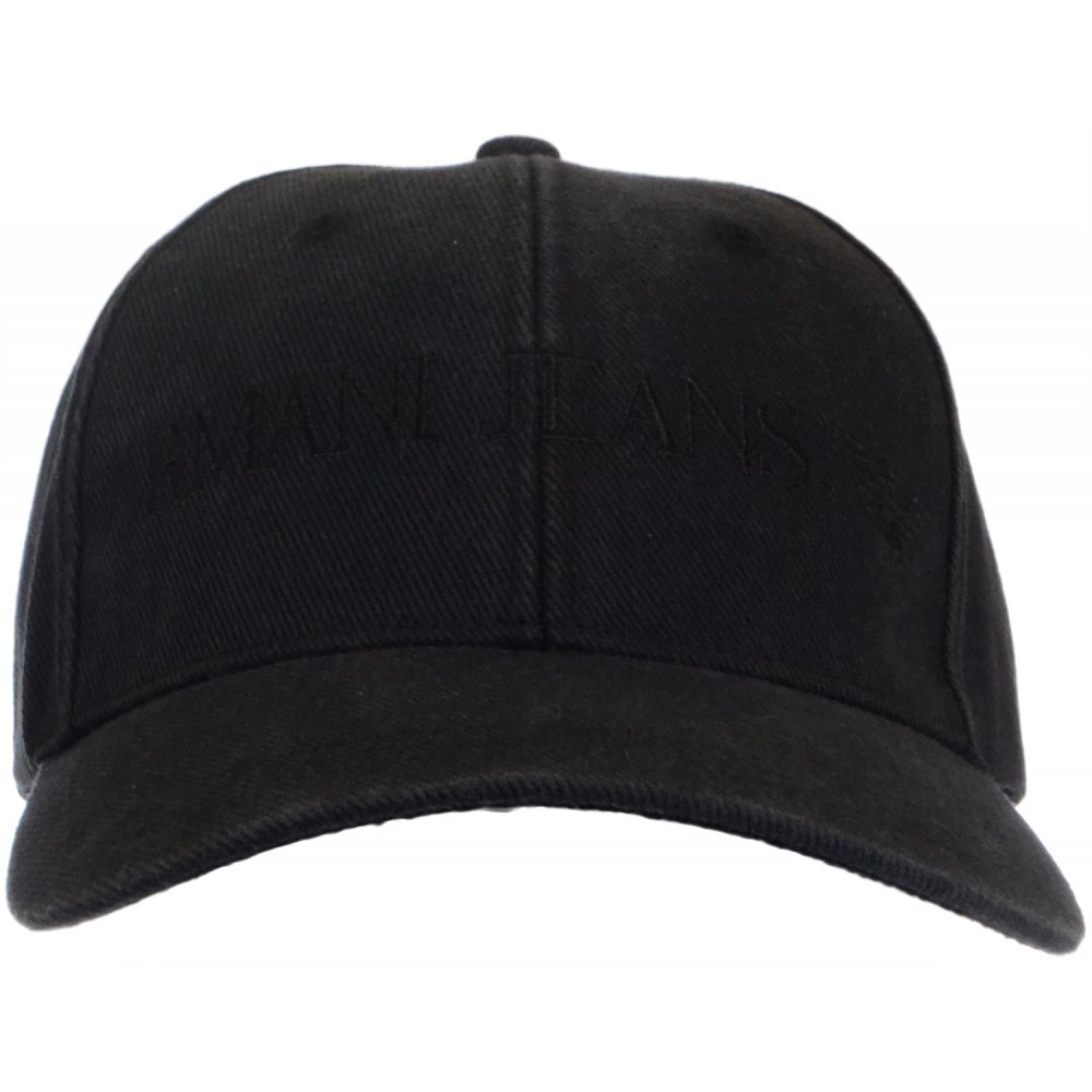 34e7ba5dc5244 Armani Jeans 06481 Black Baseball Cap - Accessories from N22 Menswear UK