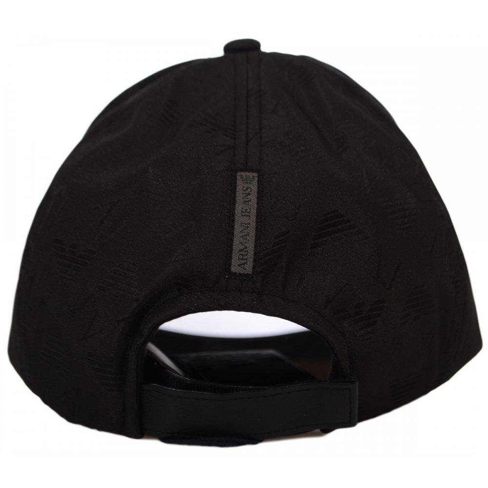 c6d3e700 Armani Jeans 06482 AJ Branded Black Cap - Accessories from N22 ...