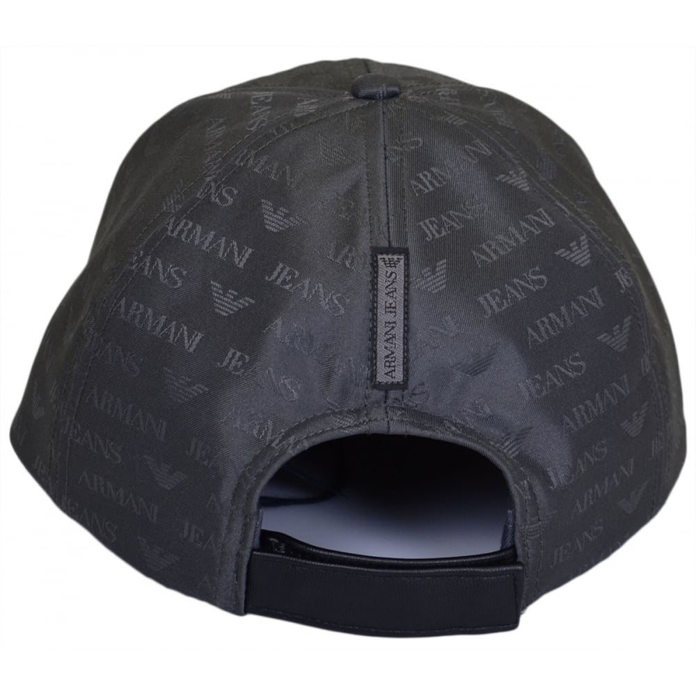 cac2339e7f1fc Armani Jeans 06482 Grey Nylon BaseBall Cap - Accessories from N22 ...