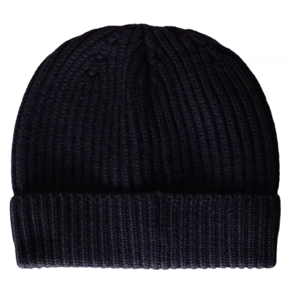 b8b62ac0e1118 Armani Jeans 934029 Wool Navy Beanie Hat - Accessories from N22 ...