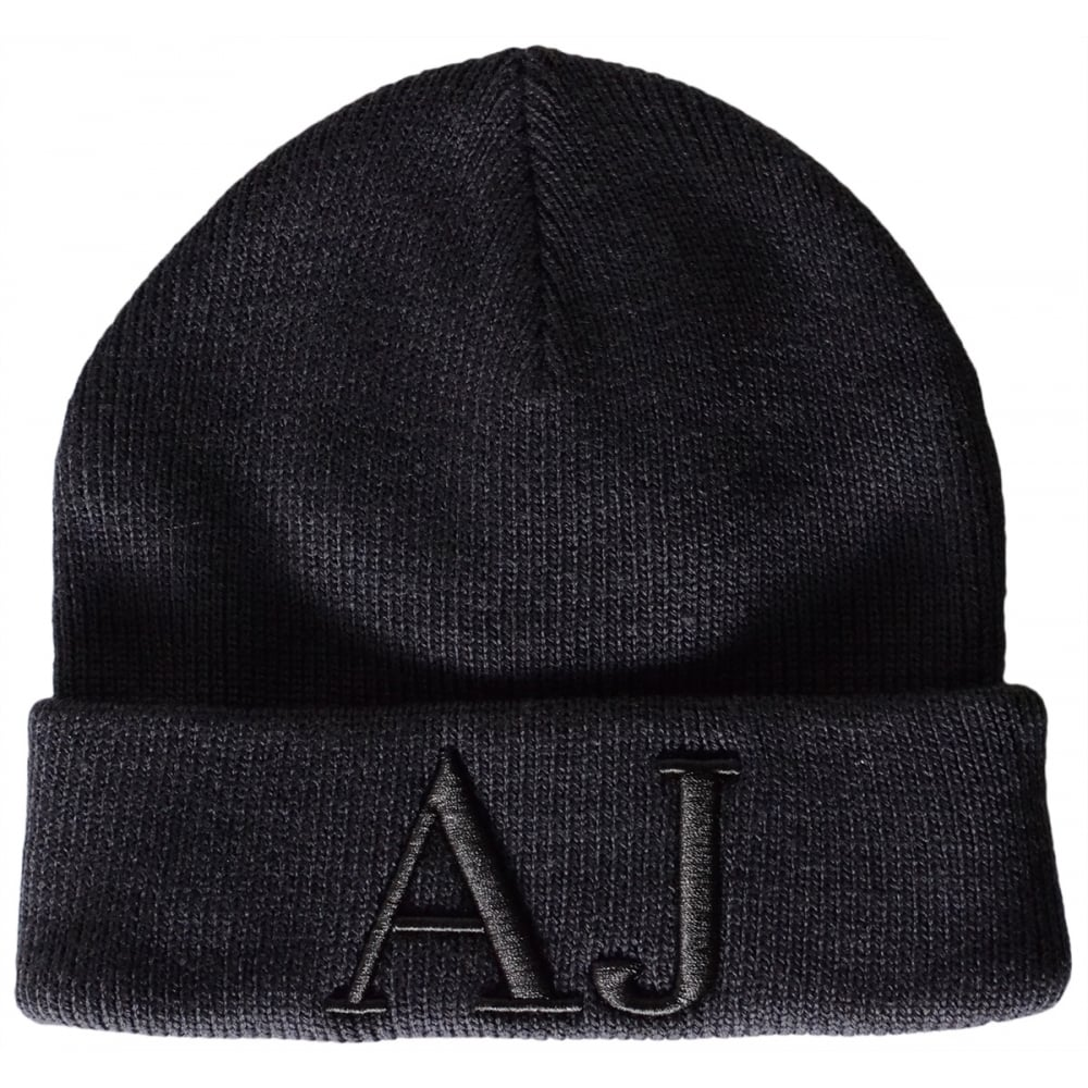 9e0ce871768 Armani Jeans 934037 Wool Navy Beanie Hat - Accessories from N22 ...