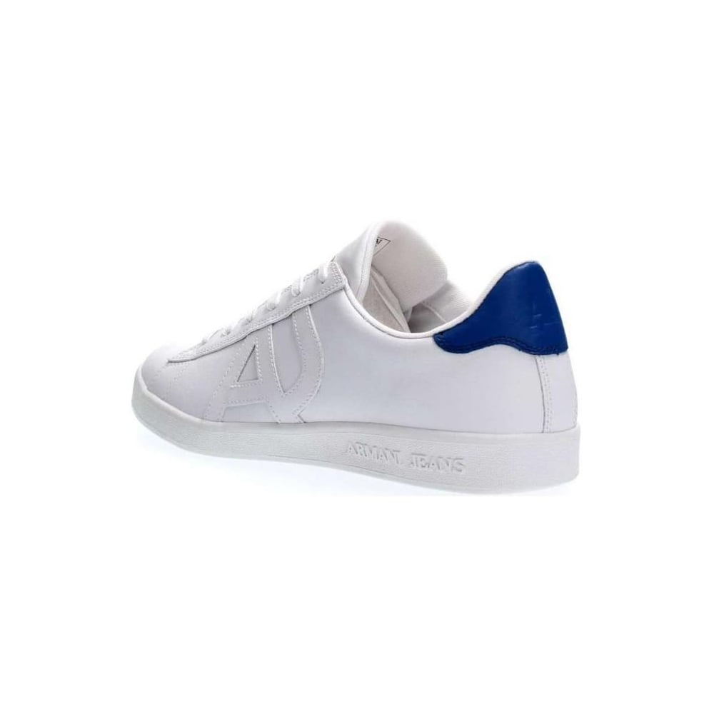 0df31dd38db Armani Jeans 935565 Full White Leather Trainer - Footwear from N22 ...