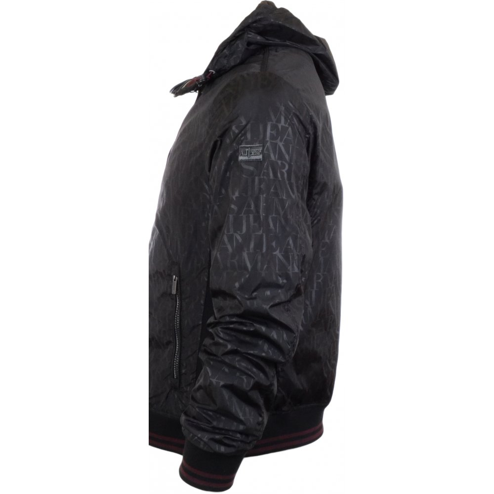 Armani Jeans A6B77 Lightweight Black Zip Jacket - Clothing from N22 ... b5c207484