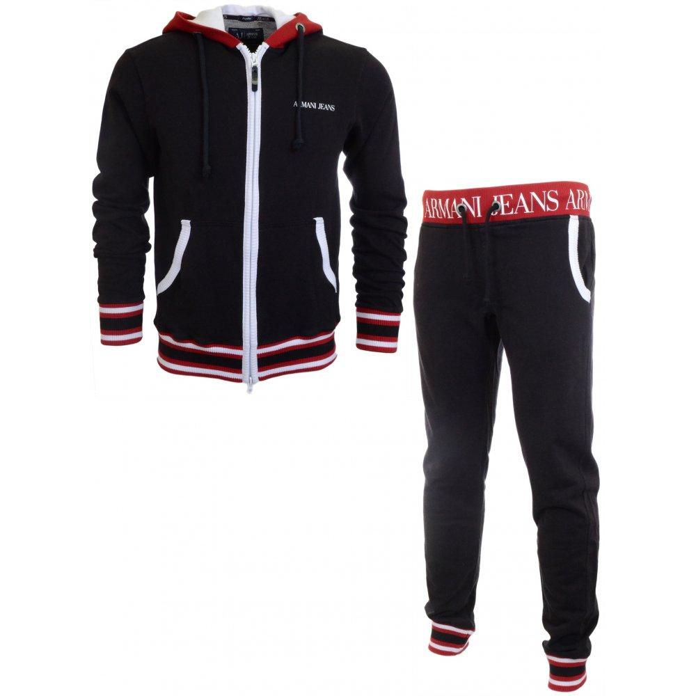 Tracksuit Armani Jeans Armani Black Black Ajq534RL