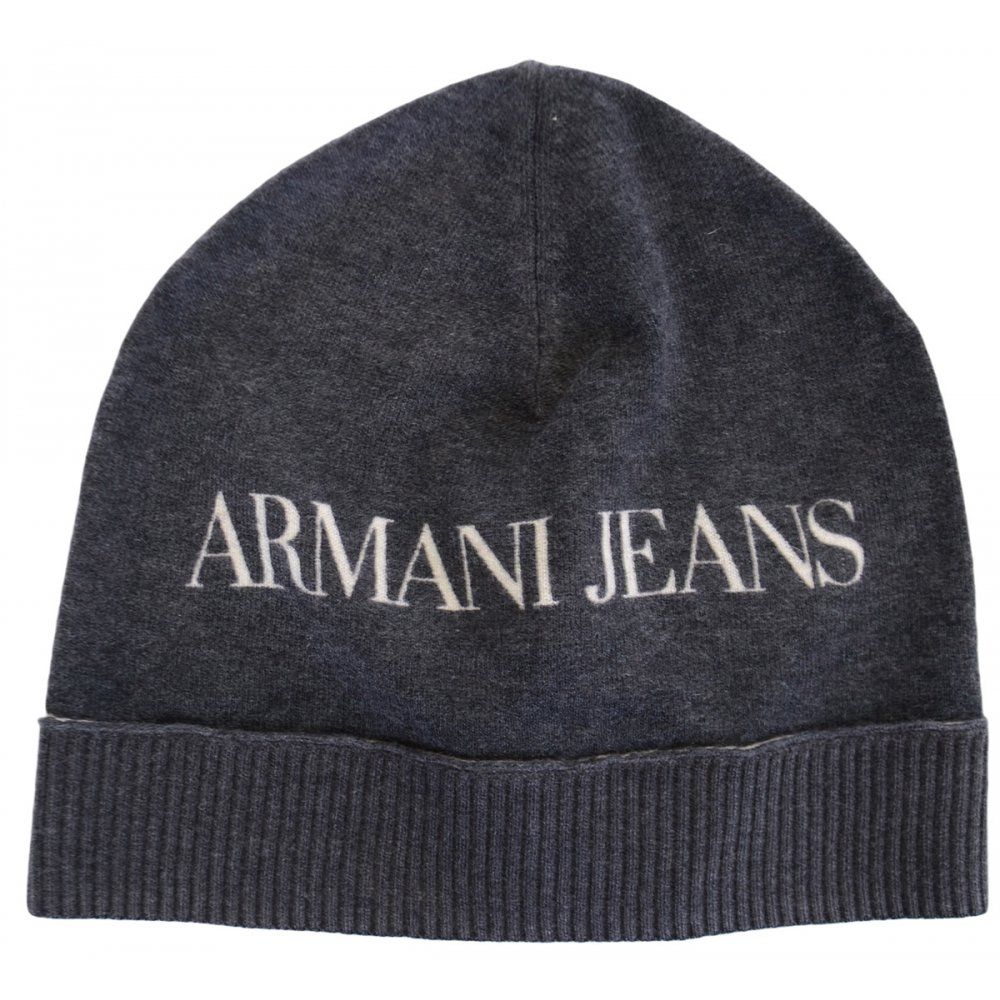 Armani Jeans U6411 Black Beanie Hat - Accessories from N22 Menswear UK 117f8987303