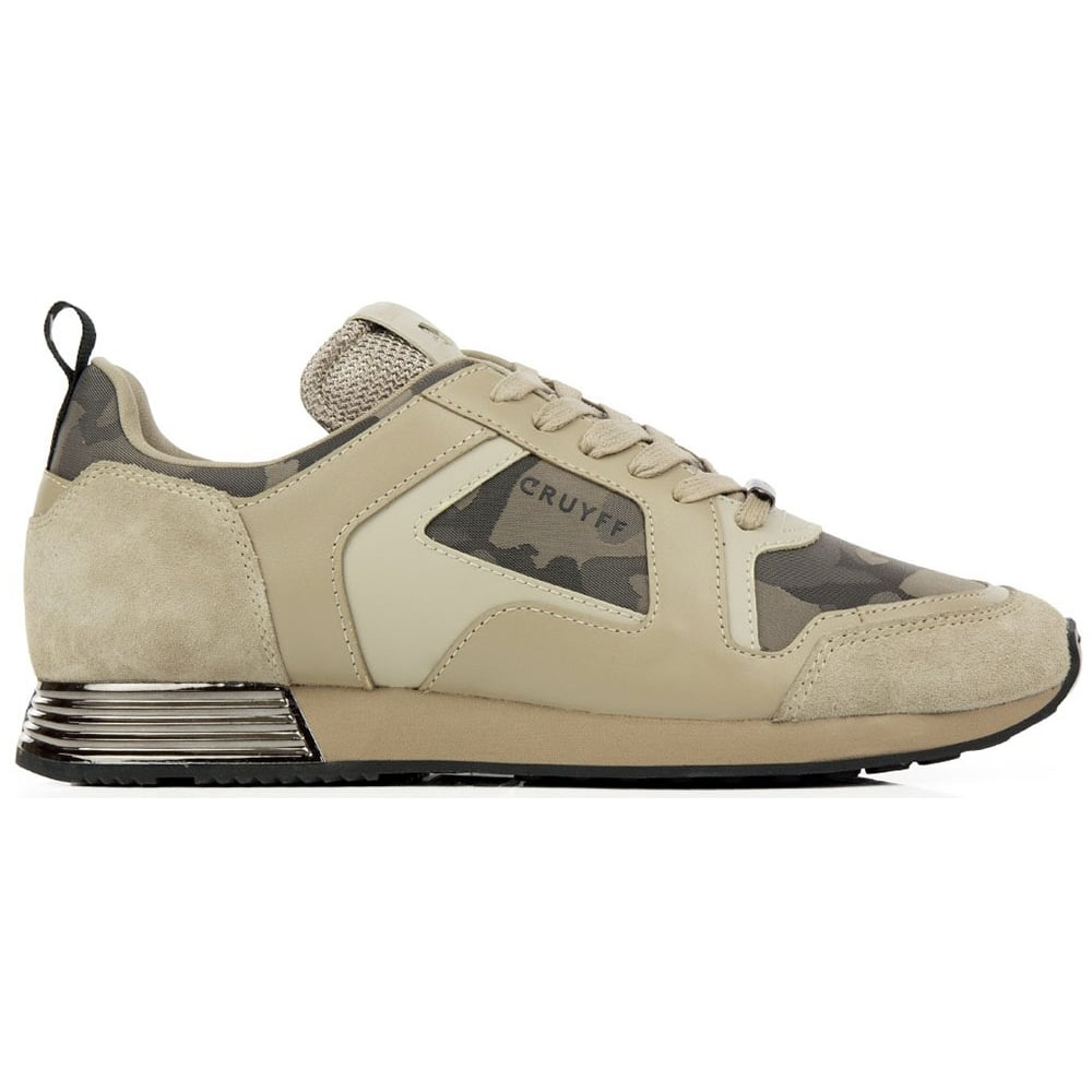 36ea8d9b91e Cruyff Classics Lusso Lace Up Sand Runner Trainer - Footwear from ...