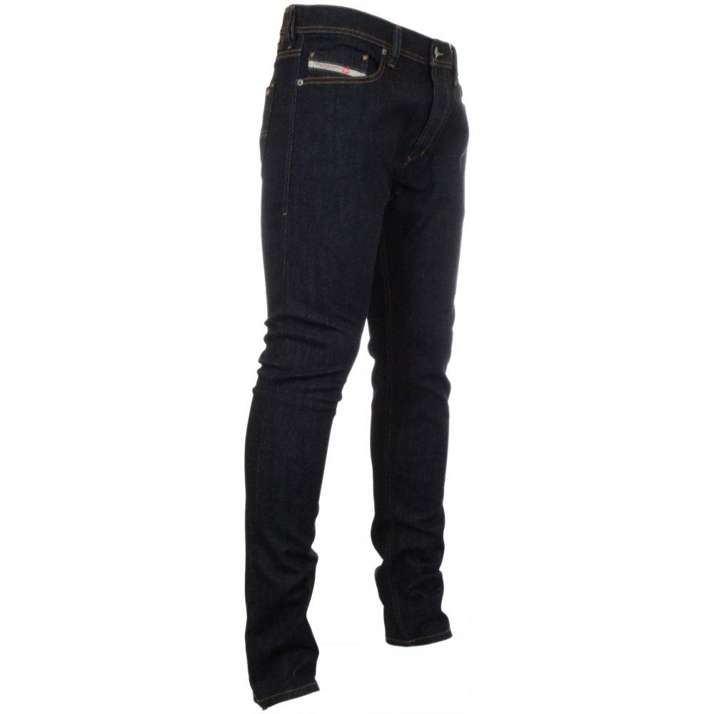 c1262dc2 Diesel Tepphar 0604B Stretch Slim-Carrot Black Jeans - Clothing from ...