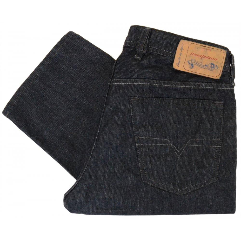 a5f68f4c Diesel Waykee 0088Z Regular-Straight Dark Blue Jeans - Clothing from ...