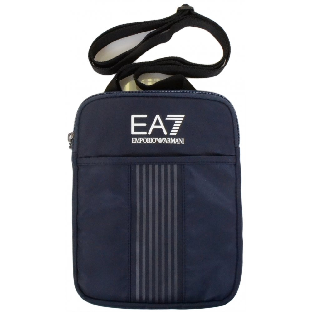 EA7 by Emporio Armani 275100 Nylon Navy Pouch Bag - Accessories from ... 7e3c802c89
