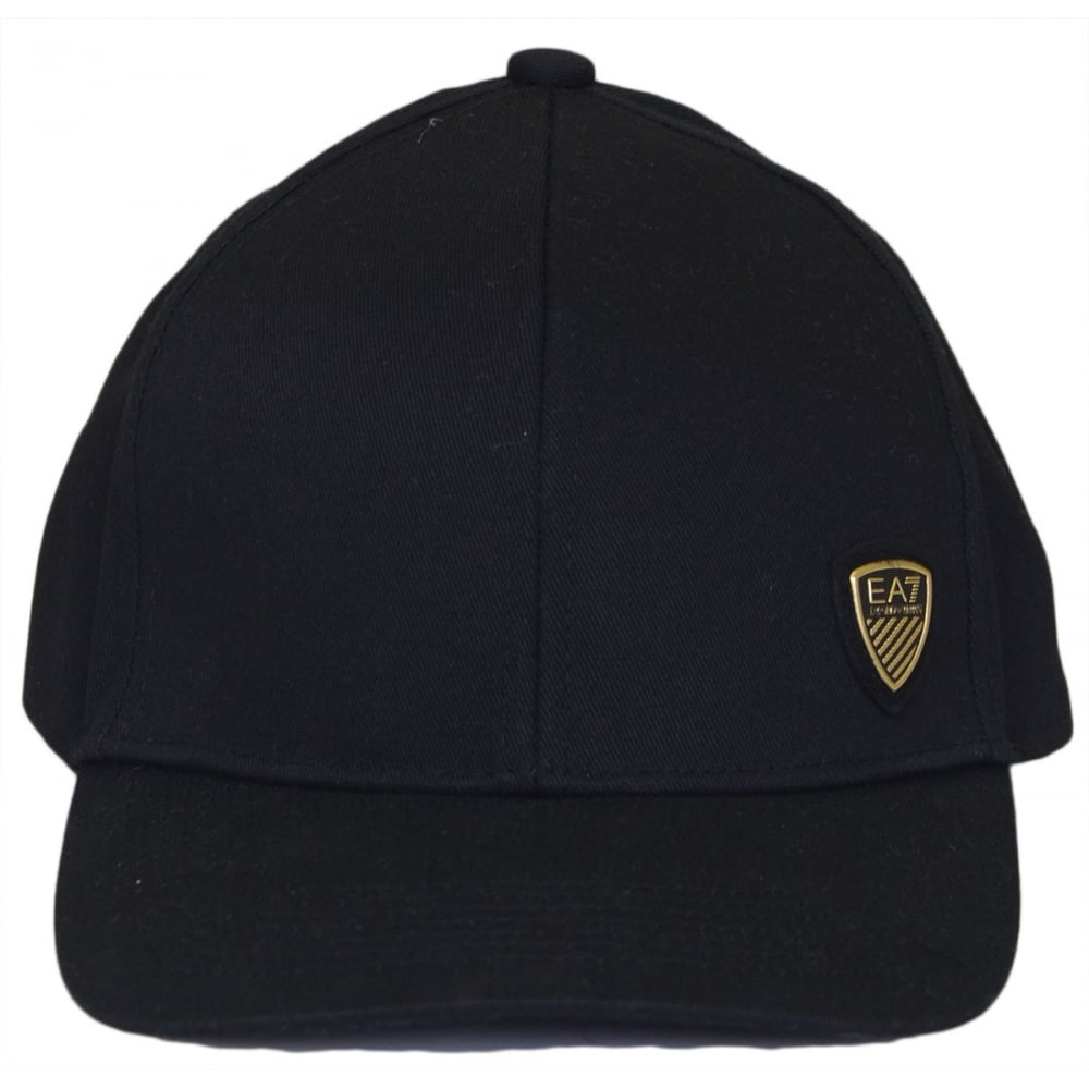 96e36d6c028 EA7 by Emporio Armani 275585 Adjustable Black Baseball Cap ...