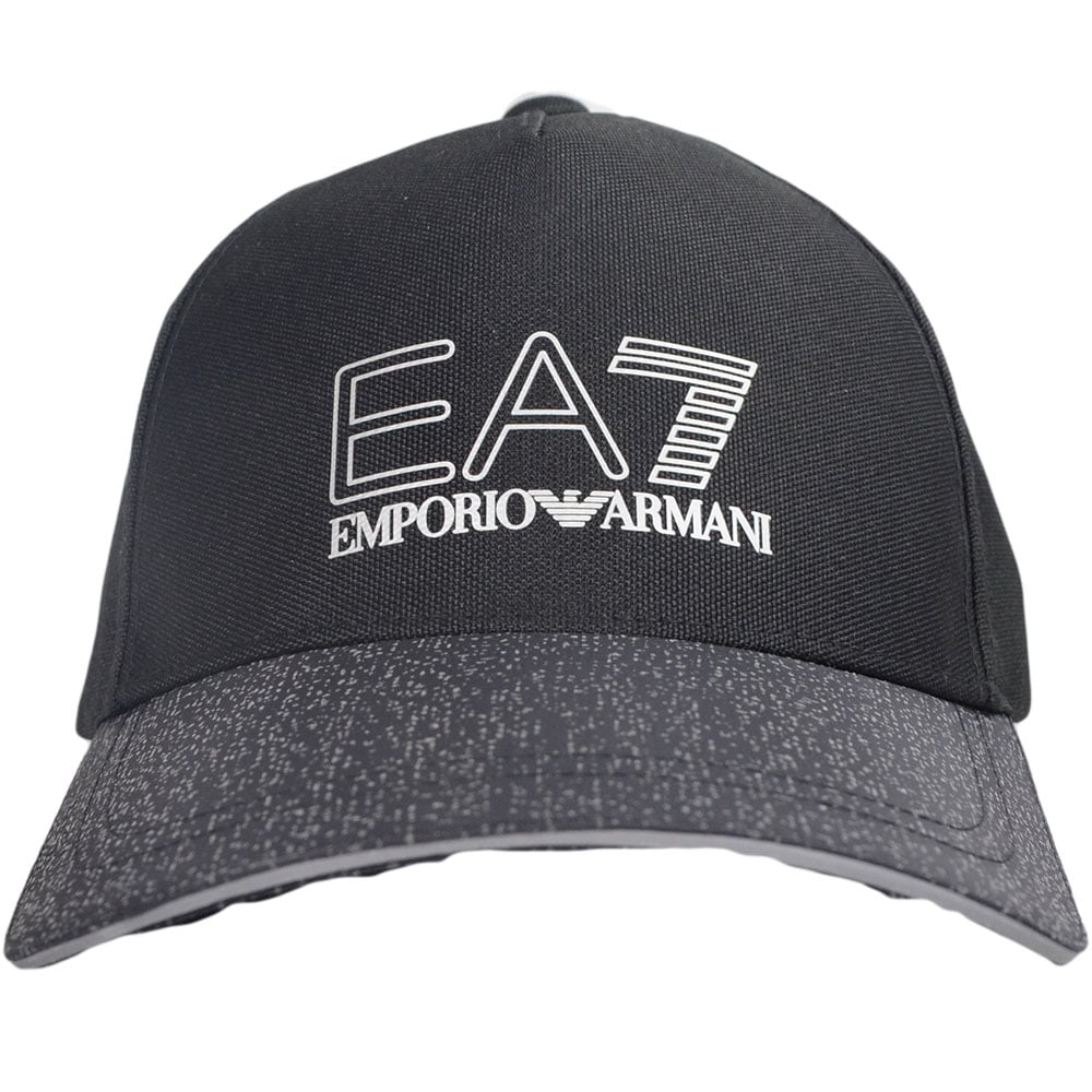 EA7 by Emporio Armani 275779 Emporio Armani Black Nylon Reflective ... 84297053019