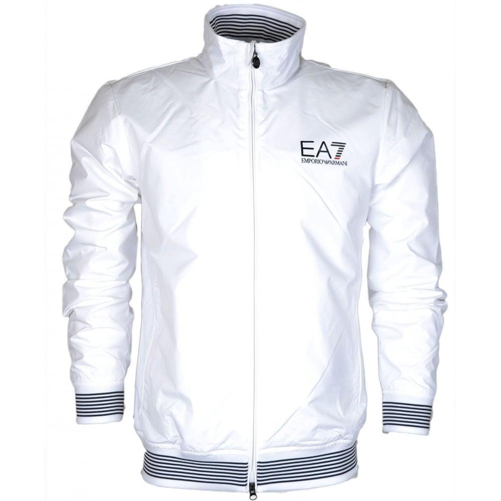 5f8f8cec EA7 by Emporio Armani 3YPB28 Train Core ID Zip White Jacket ...