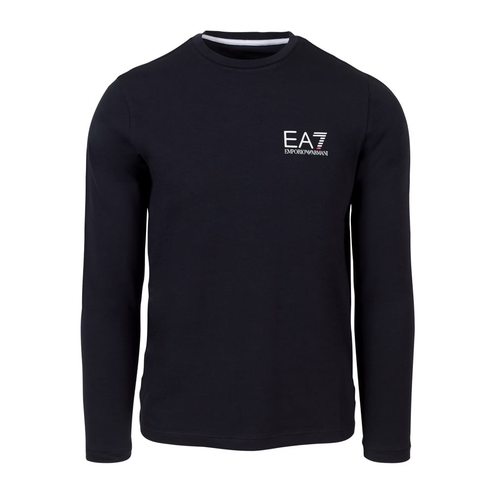 4a1fcd02bd6c ... EA7 by Emporio Armani 3YPT55 Long Sleeve Plain Black T-Shirt. Tap image  to zoom. 3YPT55 Long Sleeve Plain Black T-Shirt