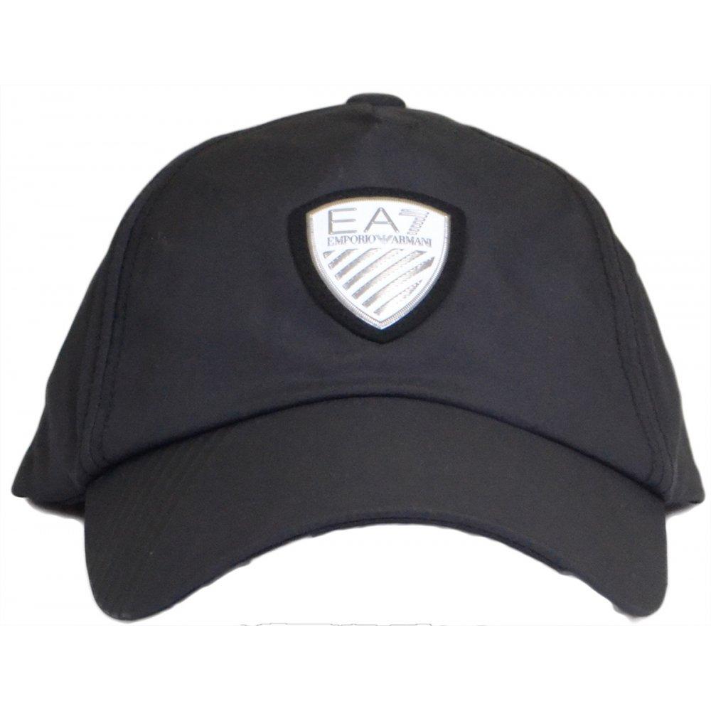 EA7 by Emporio Armani Polyester Black Baseball Cap - Accessories ... 6c7d9d82de8