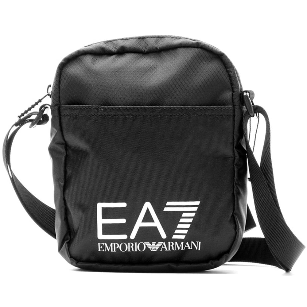 EA7 by Emporio Armani Polyester Black Side Bag - Accessories from ... e1efac5d5d91e