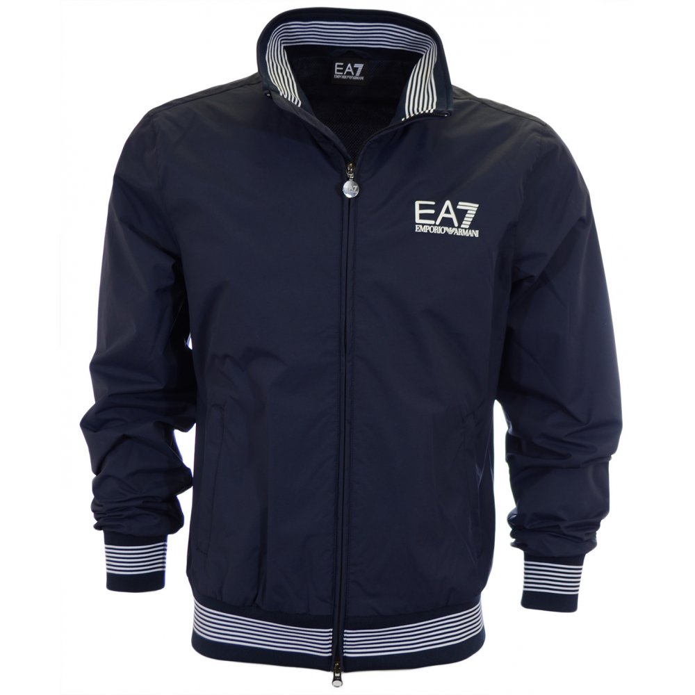 159912acaa0 EA7 by Emporio Armani Sea World Blouson Blue Jacket - Clothing from ...