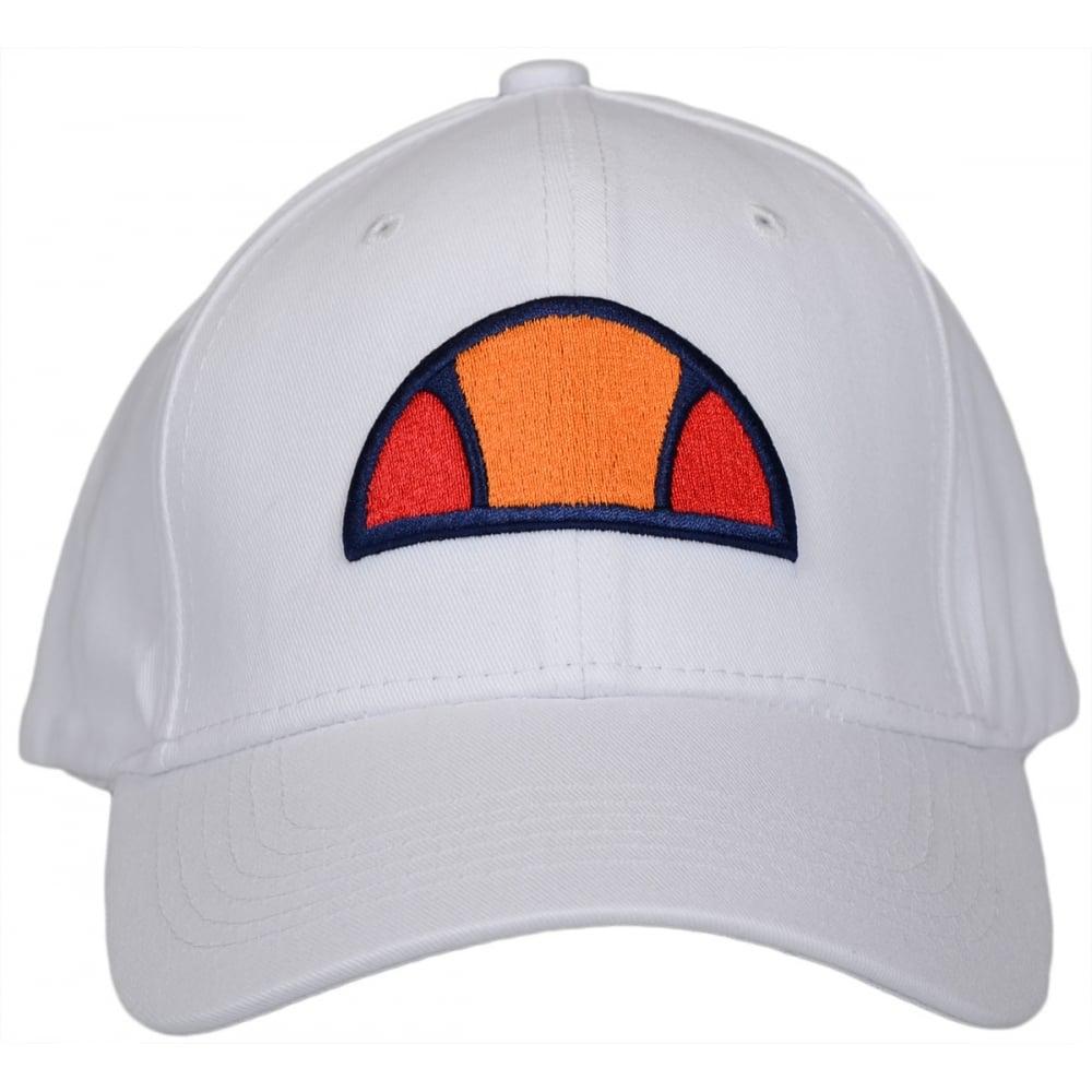 Ellesse Alzia White Baseball Cap - Accessories from N22 Menswear UK 43877300adb
