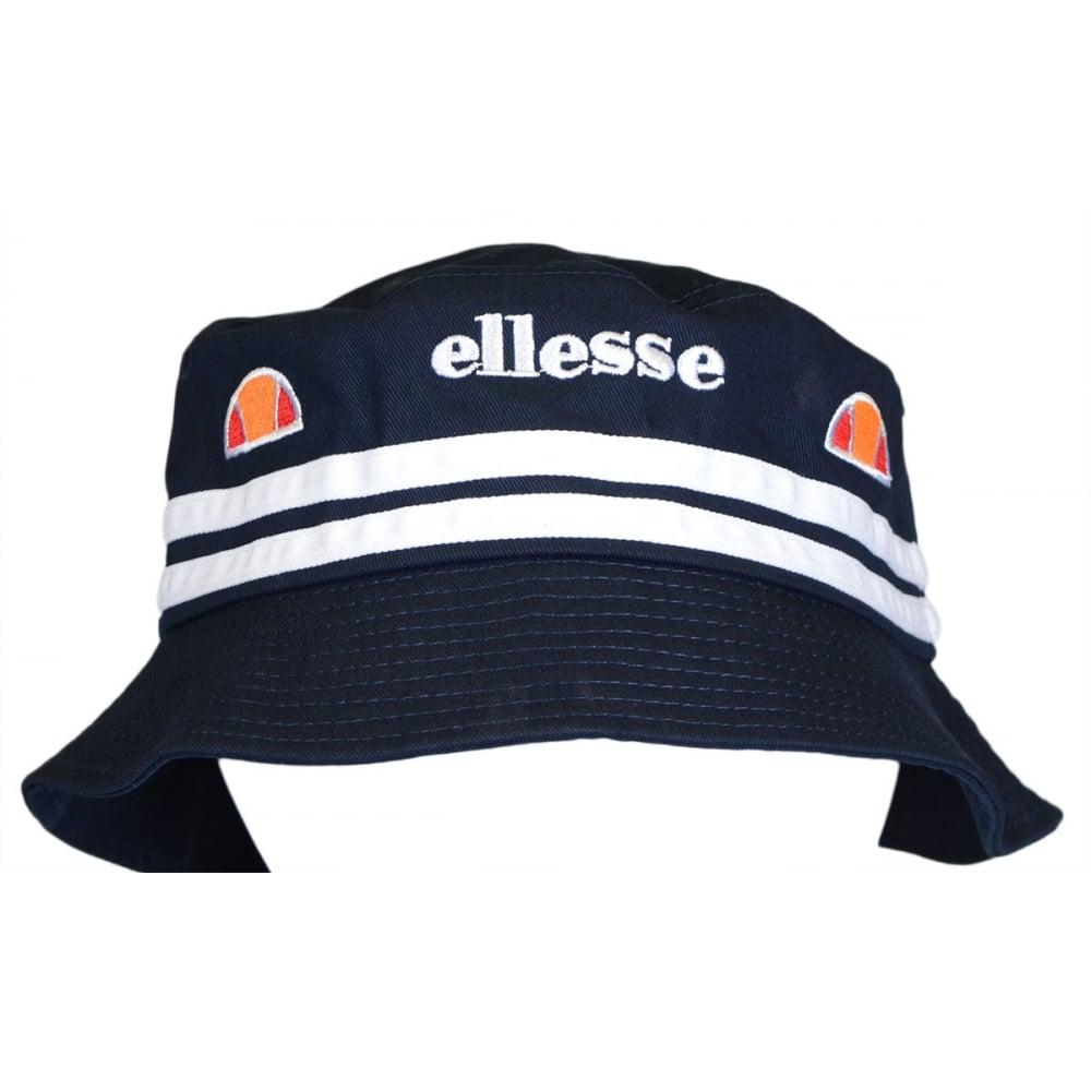 0e2ecd23edd Ellesse Lorenzo II Stripe Navy Bucket Hat - Accessories from N22 ...