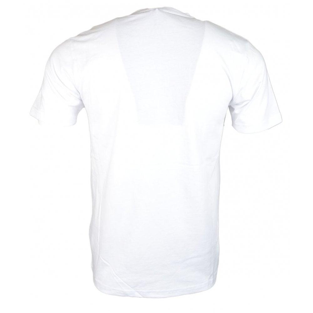 eafaddc1 Ellesse Prado Optic White Cotton T-Shirt