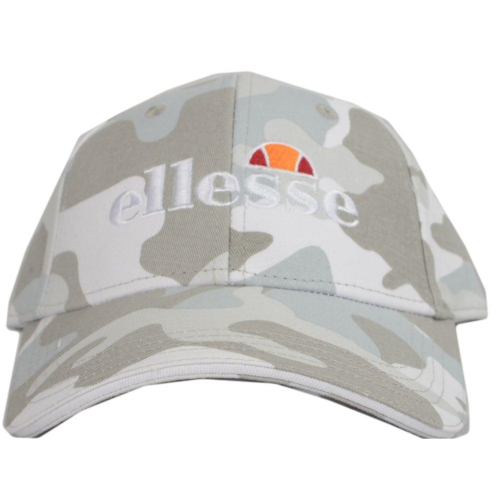 503b5e5bbc Ellesse Ragusa Grey Camo Baseball Cap