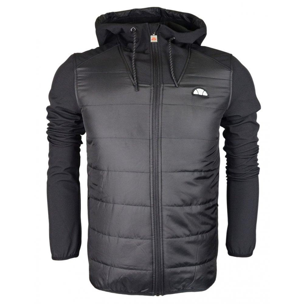 22674209b5 Coats & Jackets Ellesse Bracciali Polyester Zip Hooded Navy Jacket ...