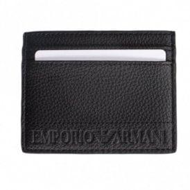 Branded Leather Black Cardholder. Emporio Armani ... ffae71a2b6