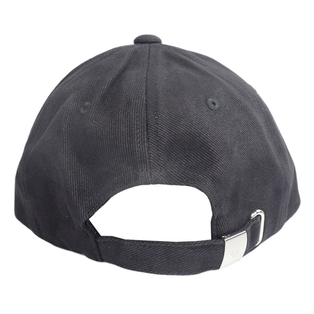 660cae8829c Emporio Armani Canvas Black BaseBall Cap - Accessories from N22 ...