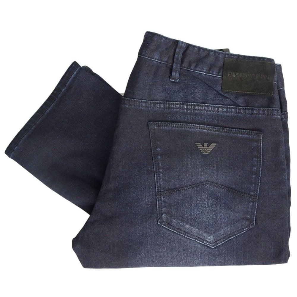 d683478c36f Emporio Armani Slim Fit Dark Blue Denim Jeans - Clothing from N22 ...