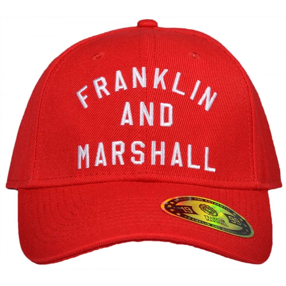 Franklin   Marshall CPUA907 Unisex Baseball Campus Red Snap Cap ... 52b04fe4ab18