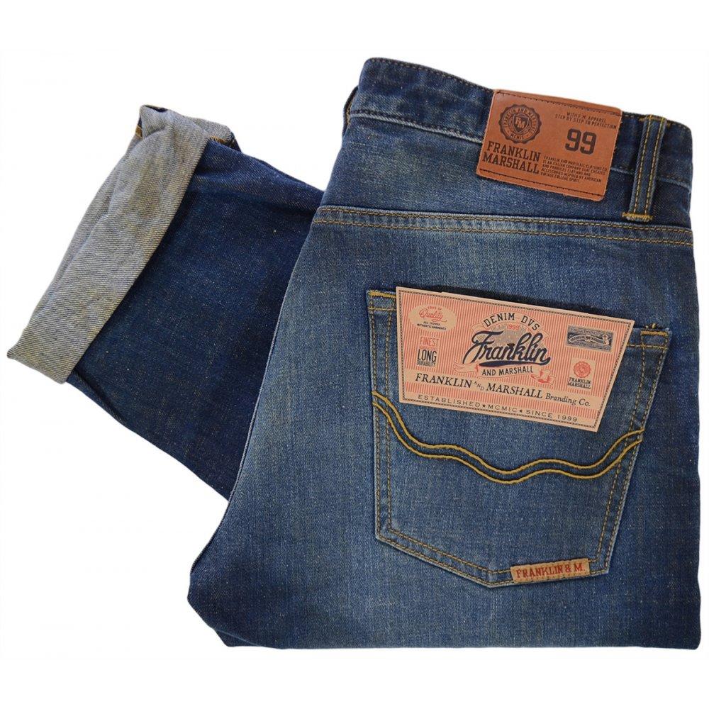 best service cbe34 61733 Franklin & Marshall Slim Fit Chicago Super Vintage Wash Jeans