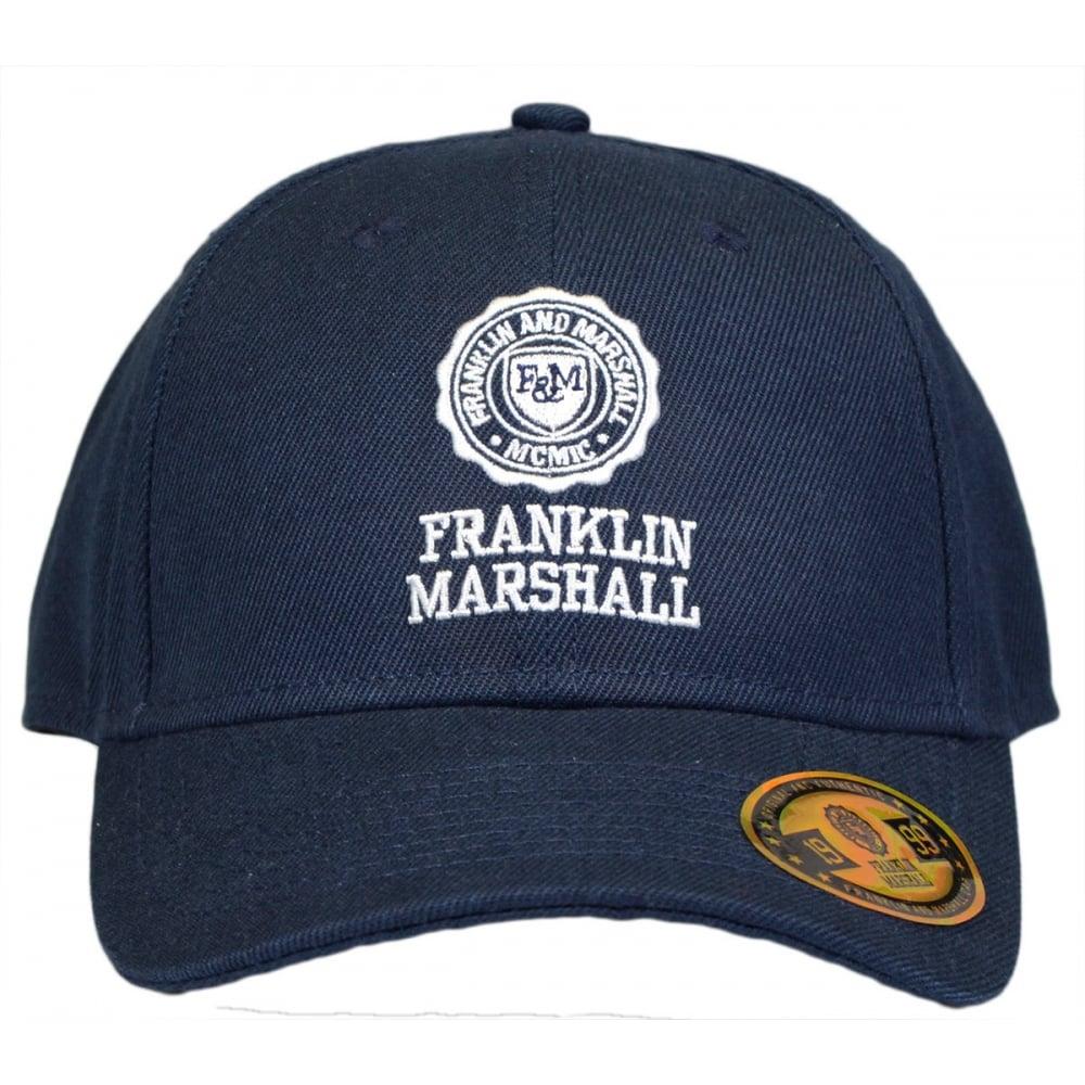 Franklin   Marshall UA901 Unisex Navy Baseball Cap - Accessories ... 42382b99a779