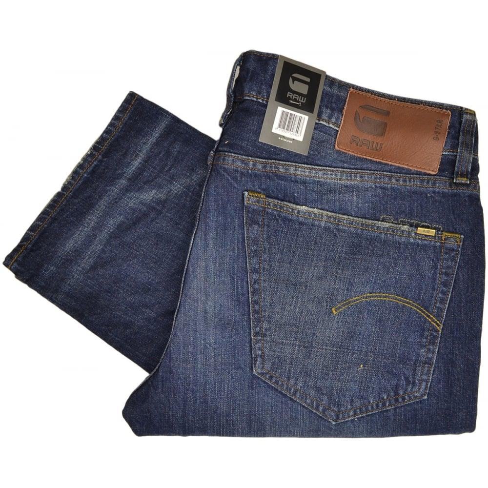 handla klassisk passform 100% kvalitet G-Star 3301 High Denim Dark Aged Straight Jeans - Clothing from ...