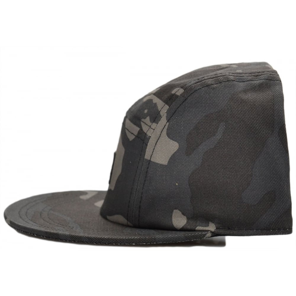G-Star Estan 5 Panel Camo Flat Cap - Accessories from N22 Menswear UK 265f6395f02