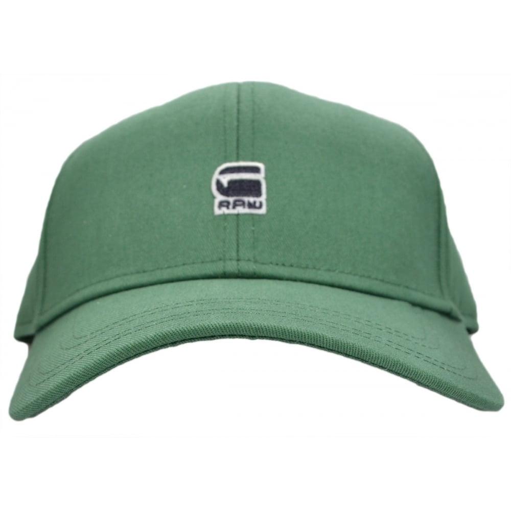 G-Star Originals Cotton Bright Jungle Green Baseball Cap ... e46f7a2bba27