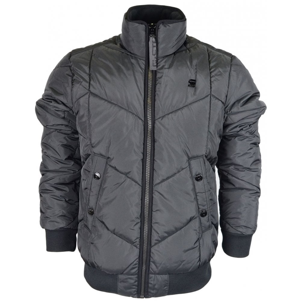 32877555e0a G-Star Whistler Meefic Quilted Bomber Black Jacket - Clothing from ...