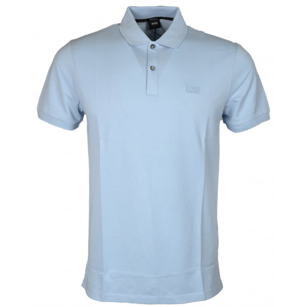 67652c4145d5 Pallas Regular Fit Pima Cotton Sky Blue Polo - Clothing from N22 Menswear UK