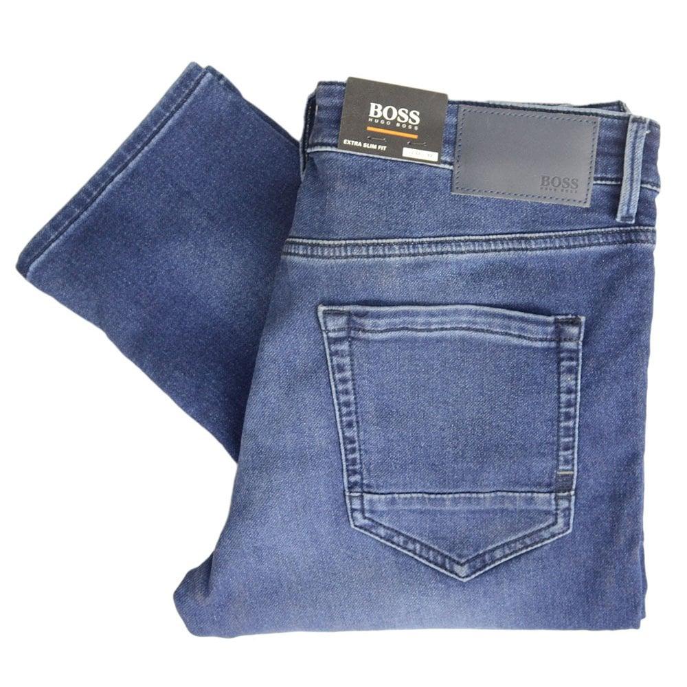 slim fit hugo boss jeans
