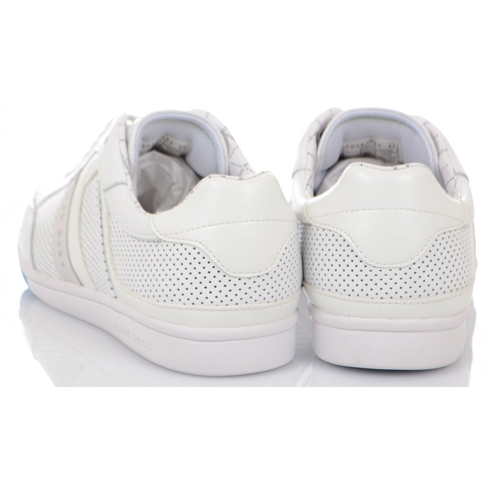 1c780f1ded2 Hugo Boss Footwear Green Eldorado Clay White Trainer - Footwear from ...