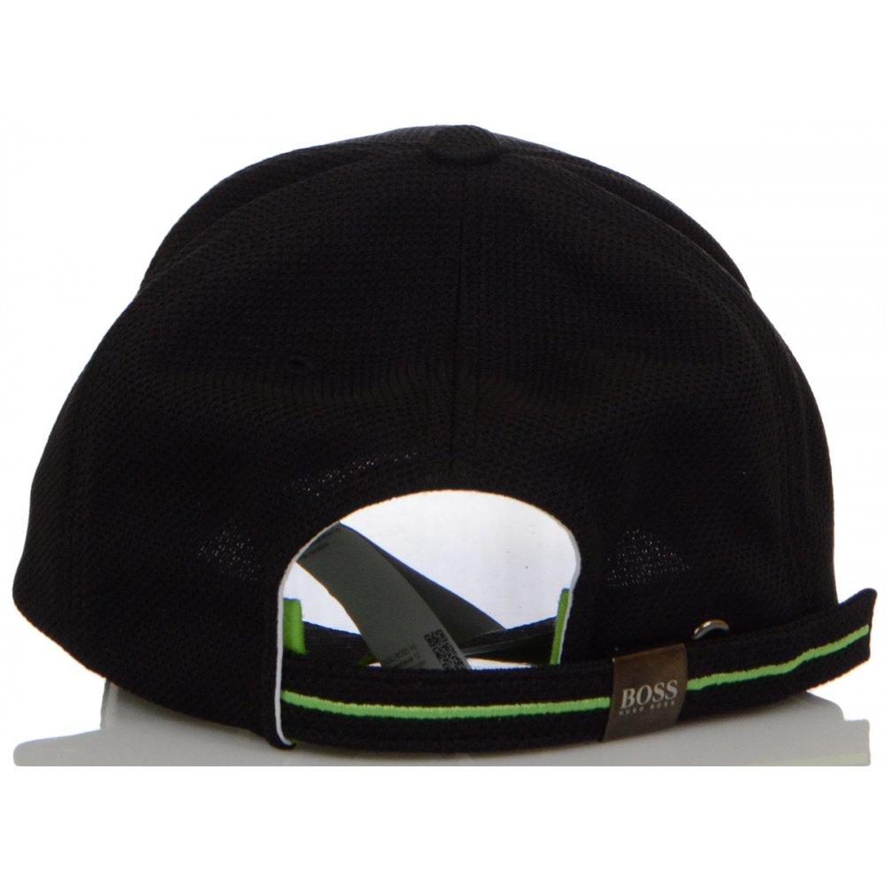 Mesh Black Baseball Cap - Accessories from N22 Menswear UK 5935db06e72