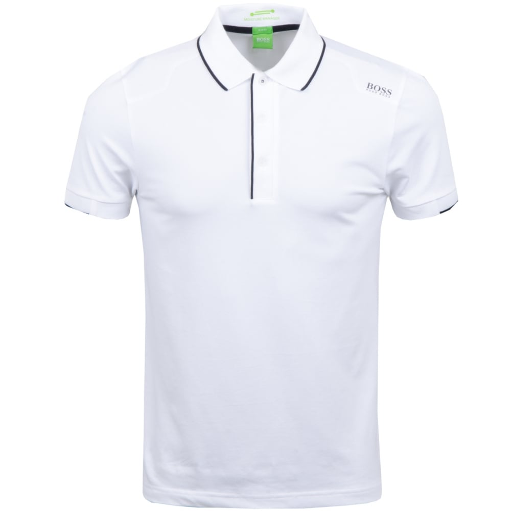 9d0408437 Paule 1 Cotton Slim Fit White Polo - Clothing from N22 Menswear UK