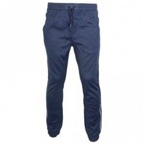 8303a0d05 Hugo Boss Cotton Zip Thin Regular Fit Grey/Navy Tracksuit - Clothing ...