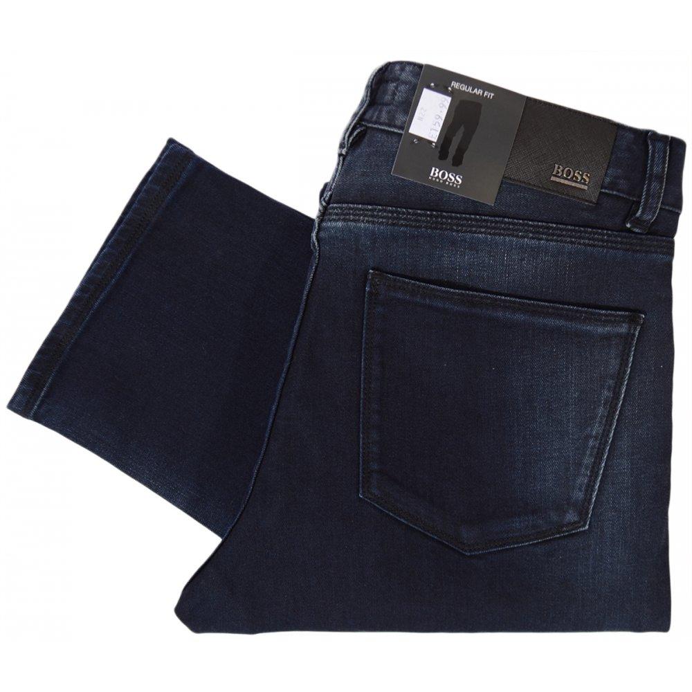 d640999b5911 Hugo Boss Iowa Regulat Fit Stretch Dark Jeans - Clothing from N22 ...